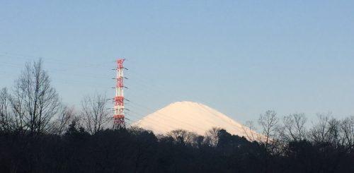 富士山の頭